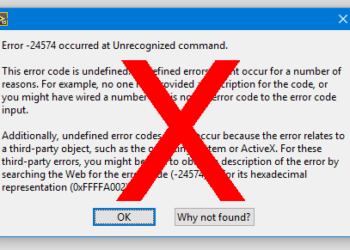 Do not rely on LabVIEW Automatic Error Handling