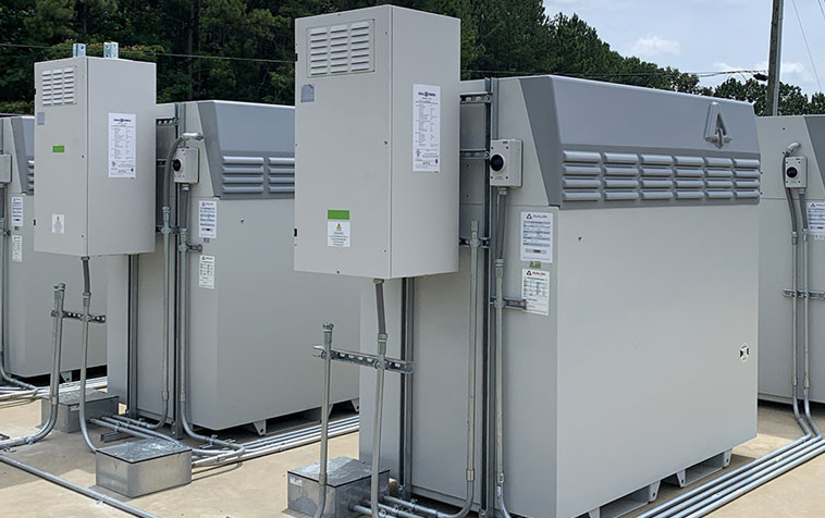 Invinity Vanadium Flow Batteries Installation